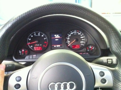RS4 V8 optiisation